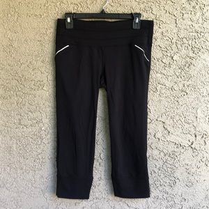 Athleta Crop Running Leggings, M
